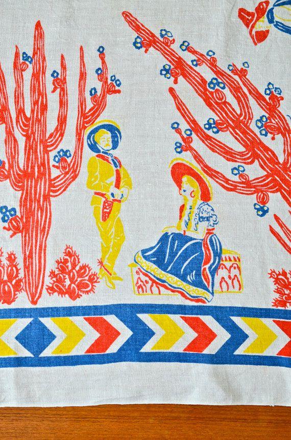 30 best vintage mexican linens images on Pinterest Tea
