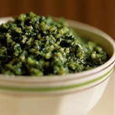 Pesto (via foodily.com)