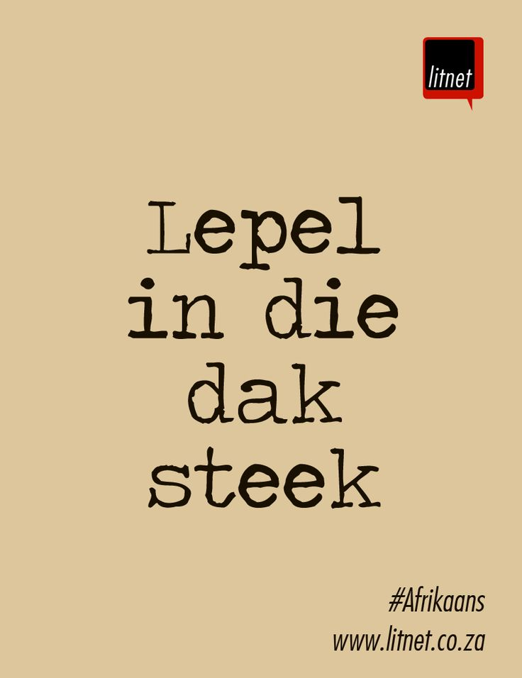Level in die dak steek More