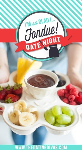 A romantic Fondue Date Night with a delicious DIY recipe and you can throw together in less than 5 minutes!