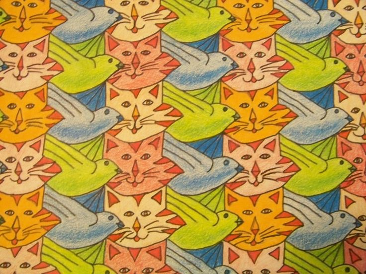 dog tessellation art - photo #26