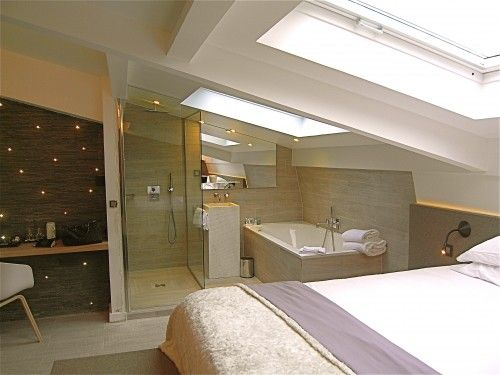 1000 Images About Sous Les Toits On Pinterest Small Attic Bathroom Loft Room And Showers