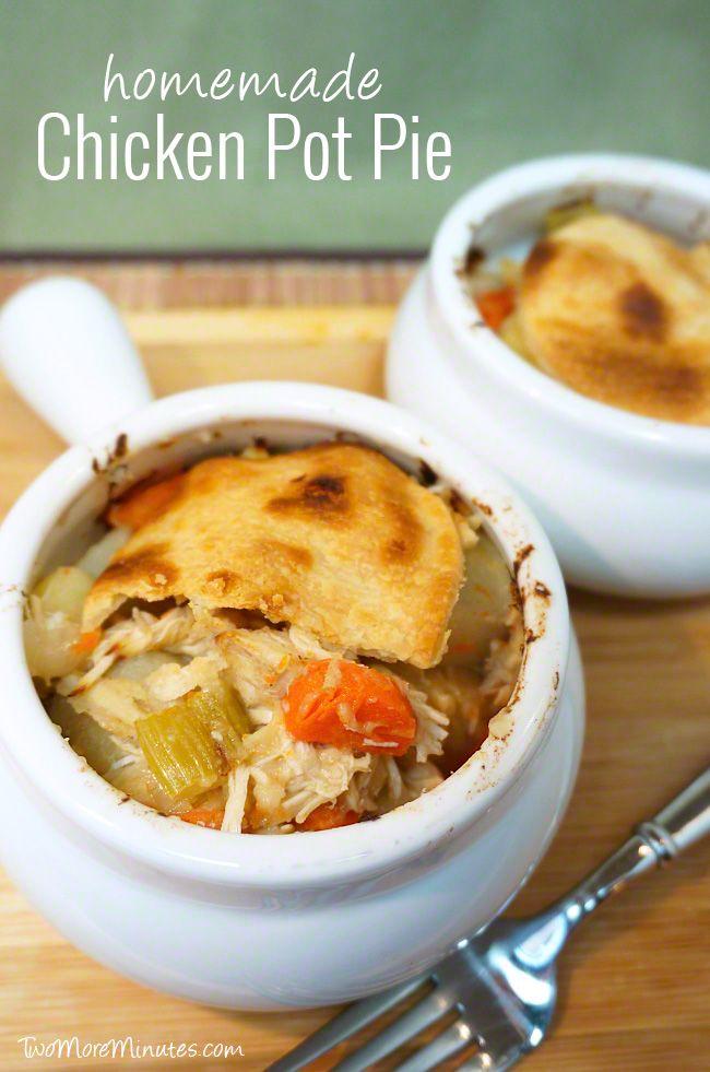 how to make homemade chicken pot pie