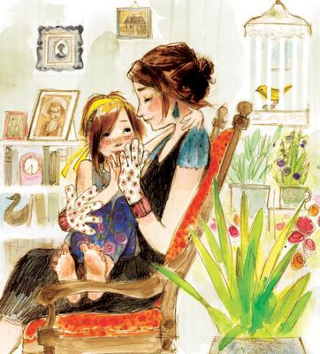 Beautiful illustrations! http://thecinnamonrabbit.blogspot.com/2010/07/event-grandmas-gloves-launch-party.html