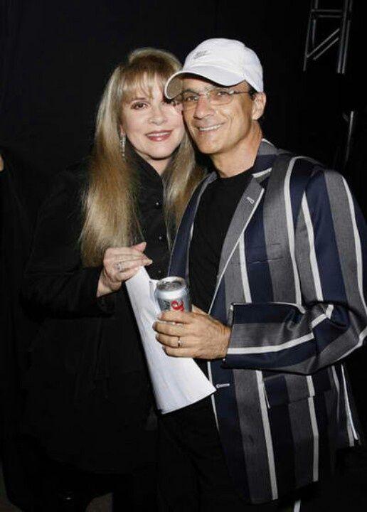 Stevie Nicks with Jimmy Iovine