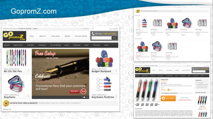 Gopromoz is service provider of Office & School Stationery Products, Apparel, Trophies, Customize & Costserset from New Delhi, India. We developed E-Commerce website using #PrestaShop framework a PHP based E-Commerce solution.