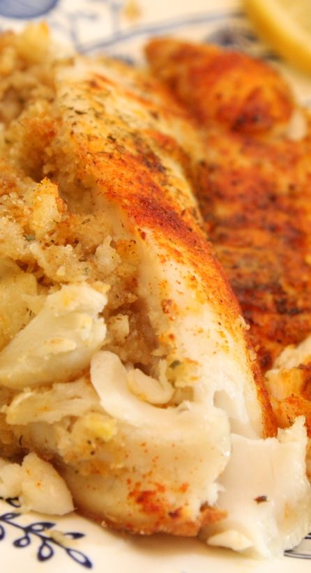 Crab Stuffed Tilapia - special and simple!