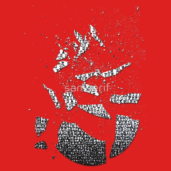 #likespinningplates #radiohead #brokenplate #samserif