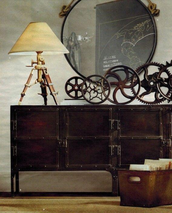 Steampunk Interior - A&D Blog