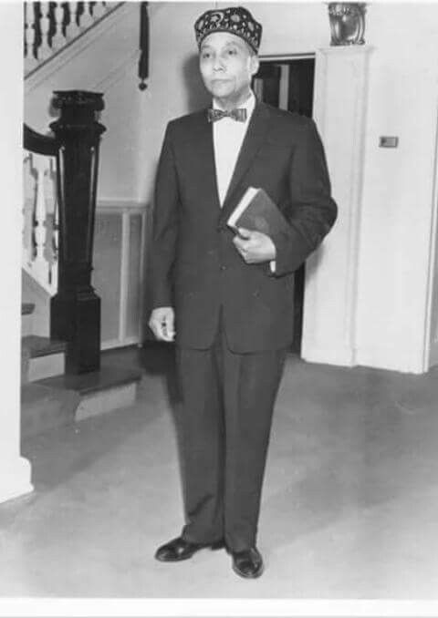 The Honorable Elijah Muhammad: there is no Malcolm X, or Muhammad Ali, or Clarence 13X without this man. He is responsible for black consciousness struggle since 1933.