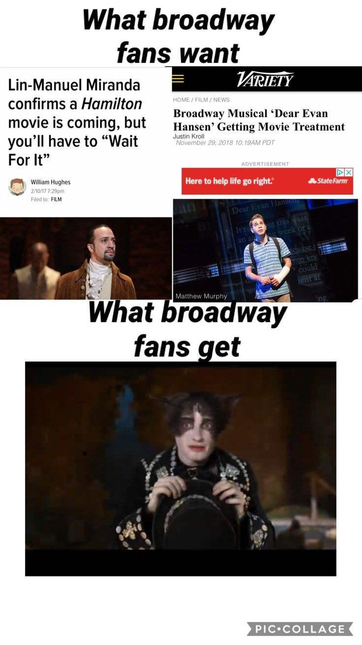 What Broadway Fans Get Musicals Funny Musicals Musical Jokes