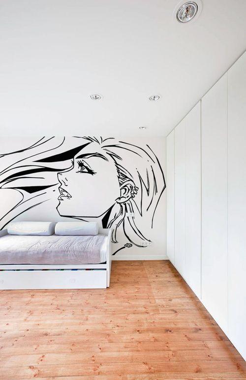Kilifori custom illustration lives large on a white wall  white-wall.jpg