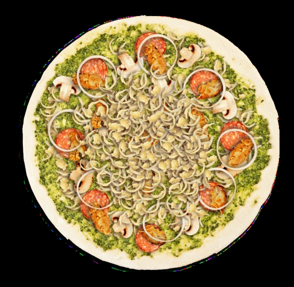 Create your own pizza with Col'Cacchio pizzeria and stand the chance to win a year's supply of slices!