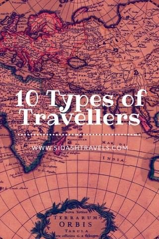On the road there are many types of travelers. Which one are you?
