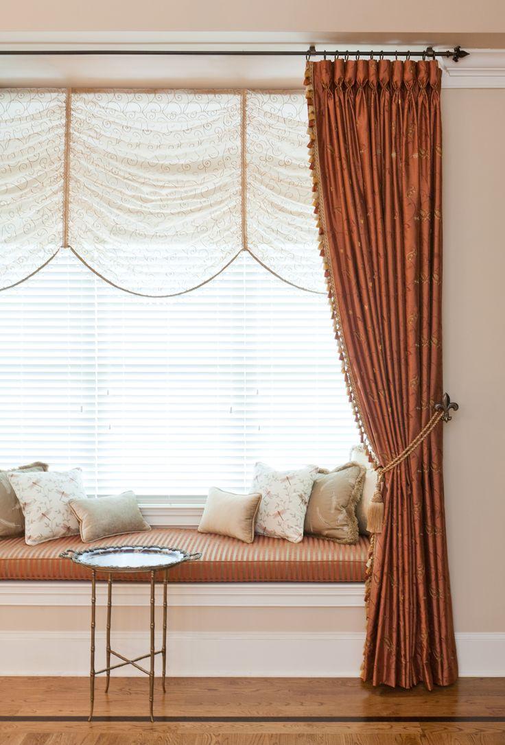 Beautiful window treatments! Photograph by Jon Friedrich | www.jonfriedrich.com