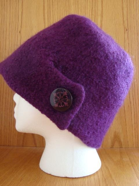 $4.00 - Adele Felted Hat by LaurieP