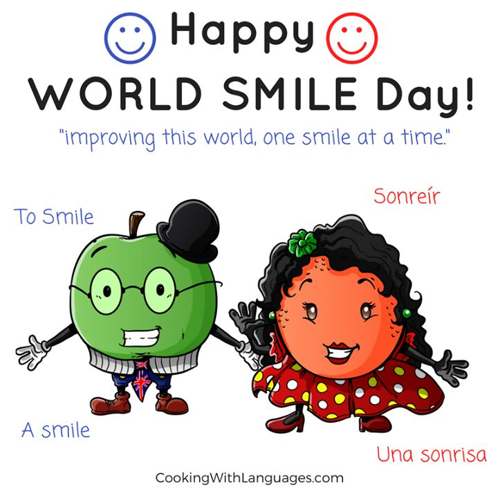 """Today is WORLD SMILE DAY ...  World Smile Day is celebrated on the first Friday in the month of October every year. The idea of World Smile Day was coined and initiated by Harvey Ball a commercial artist from Worcester Massachusetts. Harvey Ball is known to have created the Smiley Face in 1963.[1] The World's first World Smile Day was held in the year 1999 and has been held annually since.  After Harvey died in 2001 the """"Harvey Ball World Smile Foundation"""" was created to honour his name and…"""