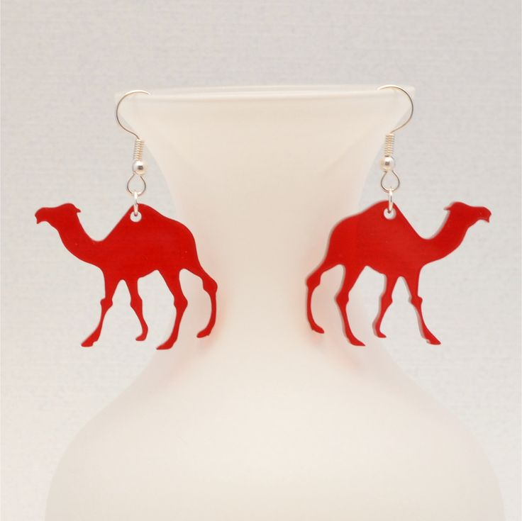 Laser Cut Camel Earrings Hump Day Camel Jewelry Gifts under 20 Gift for Coworker Wednesday Jewelry Personalized Valentine's Day Gift