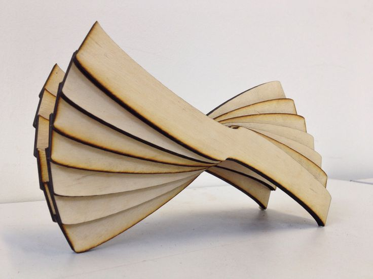 Second Model - Constructed from 6mm Plywood, Laser Cut.