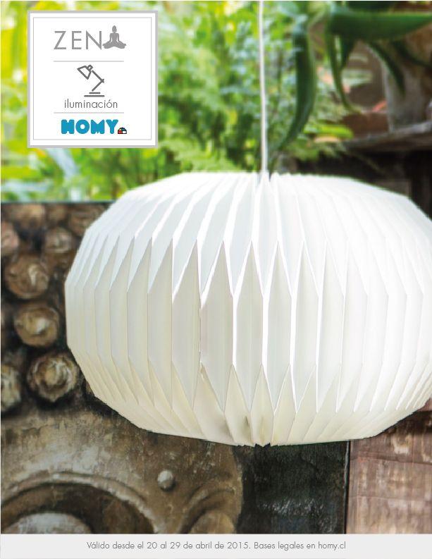 Hermosa lampara!!!! I WANT IT #Iluminación #Zen #Lámpara #Colgante