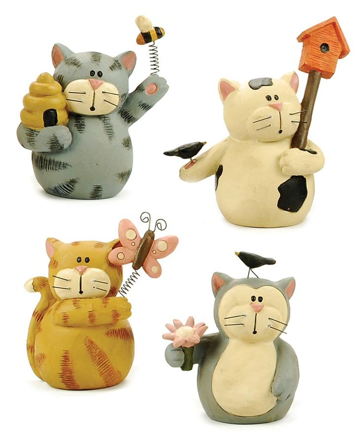 Set of 4 Spring Kitties  $23.96
