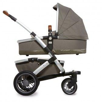 De nieuwe Joolz Geo Mono in de kleur Rocky Grey is nu te bestellen in onze webshop! Ideale uitbreidbare kinderwagen met grote boodschappenmand, groeit met je gezinssituatie mee!
