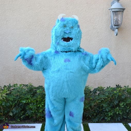 Homemade Sully Costume - 2013 Halloween Costume Contest via @costumeworks