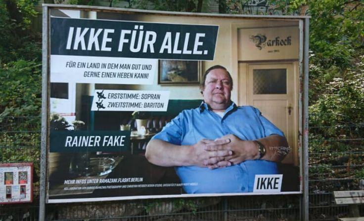 Die 21 merkwürdigsten, absurdesten, lustigsten, WTFsten Wahlplakate 2017