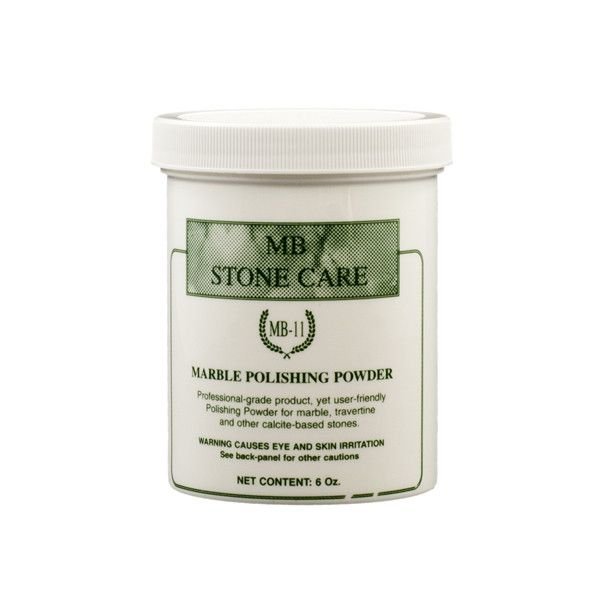 Floor Cleaning 101 How To Bring Back The Shine To Dull: Marble Polishing Powder (6 OZ) MB-11