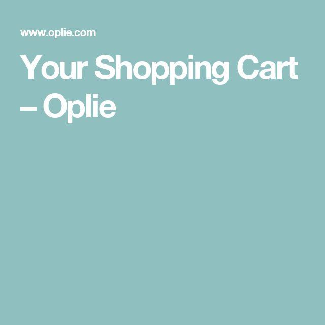 Your Shopping Cart – Oplie