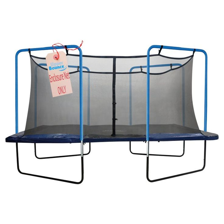Upper Bounce Replacement Trampoline Safety Net for 13 x 13 ft. Square Frames - UBNETSQ-1313-4