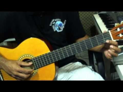 Estudo para iniciantes de violão clássico. - YouTube