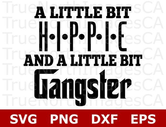 A Little Hippie A Little Hood Svg Sayings For Shirts Svg