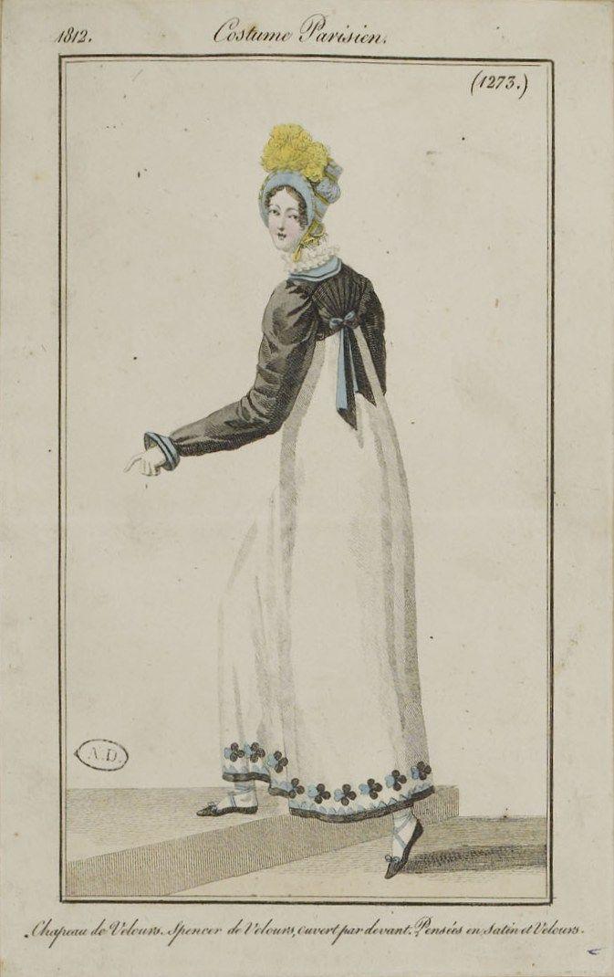 Journal des dames et des modes / Costume Parisien: 30 Novembre, 1812 (b)
