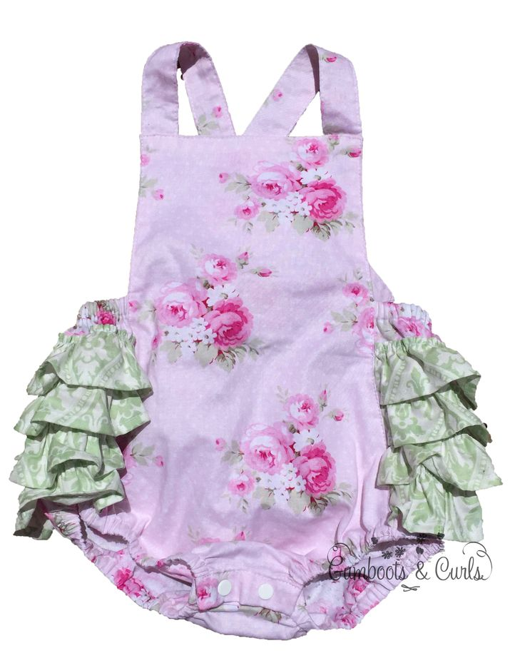 Gumboots & Curls Ruby 'Ruffle' Romper $39.95 http://www.gumbootsandcurls.com.au/collections/baby-girls-0-1-yrs