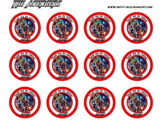 Free Printable Captain America Boy Party Thank You