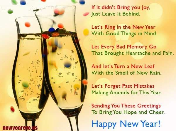 good wishes for friends new year quotes - Google Search: