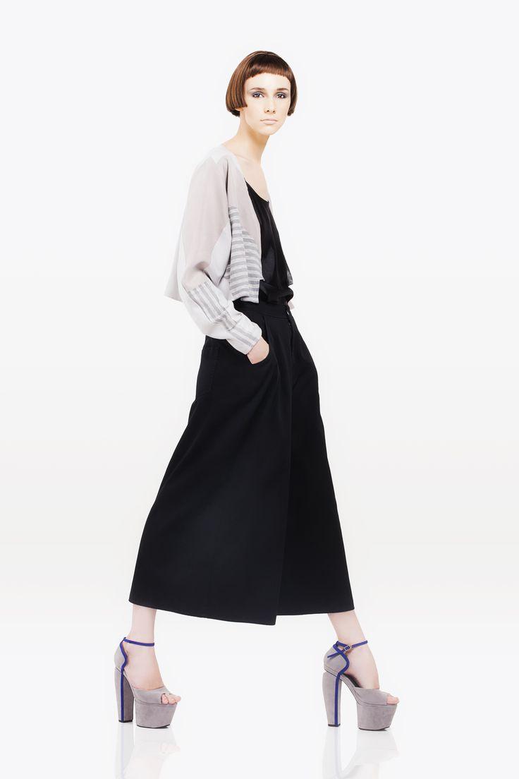 Long dress? No! It's oversize baggy pants