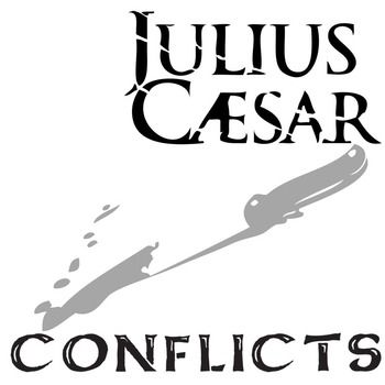 JULIUS CAESAR Conflict Graphic Organizer - 6 Types of ConflictPLAY: Julius Caesar by William ShakespeareLEVEL: 9th - 12thCOMMON CORE: CCSS.ELA-Literacy.RL.2Suggested answer key provided!This resource can be purchased as part of JULIUS CAESAR Unit Teaching Package bundle.Highschoolers will subconsciously enjoy the design of this one-page graphic organizer as they take notes on the 6 different types of conflict.DIRECTIONS: For each of the six types of conflict, try your hardest to describe…