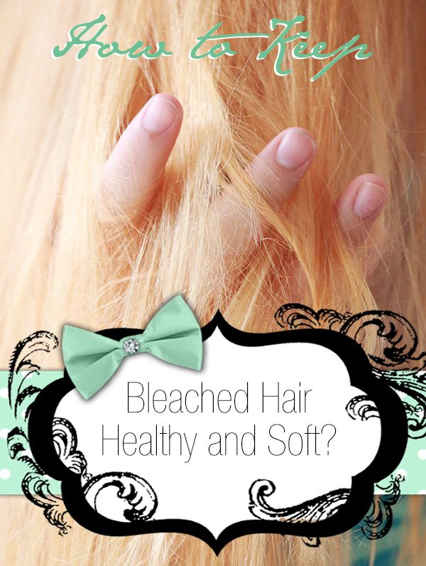 Bleaching isn't very good for hair. To help you learn how to keep bleached hair healthy and soft, we've created a practical and detailed guide.