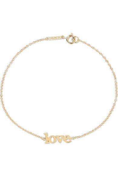 Jennifer Meyer - Love 18-karat Gold Bracelet - one size