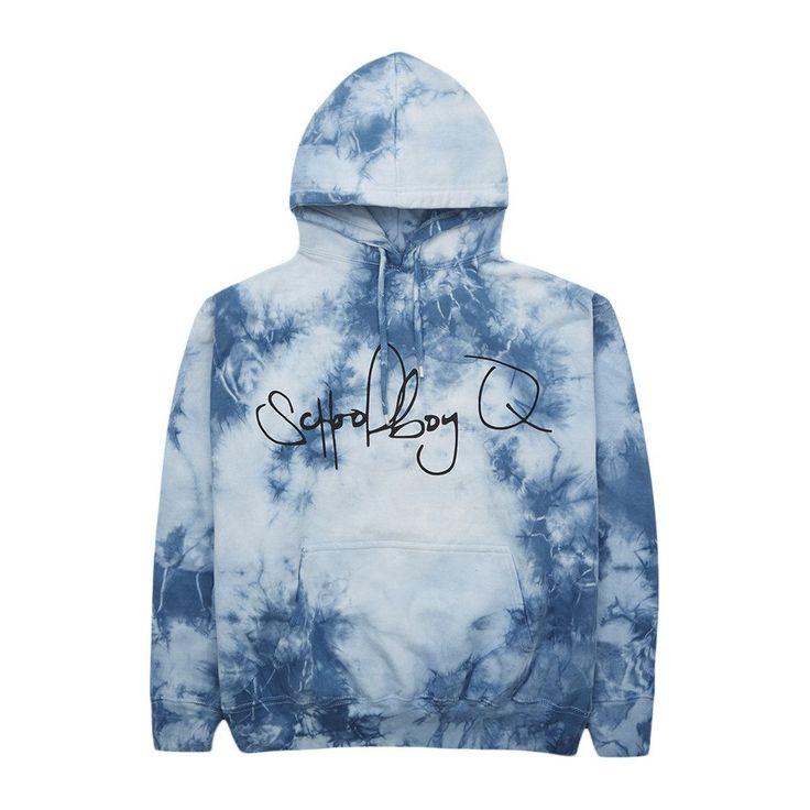 Q Tie Dye Sweatshirt (Blue)