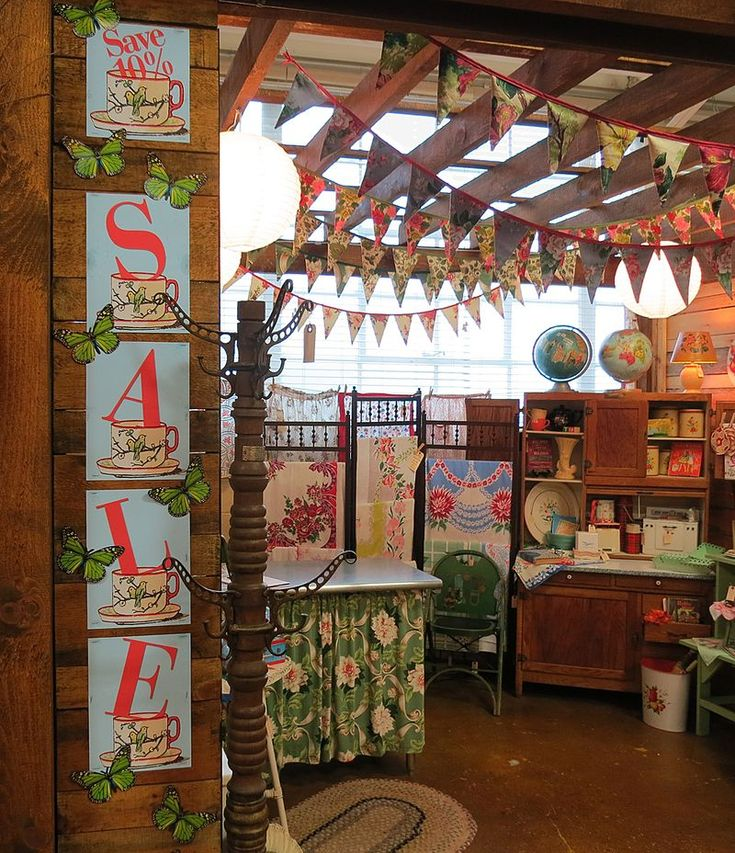 1000 images about antique mall booth displays on for Craft store norwalk ct