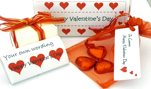 Valentine's Day gifts - personalised chocolate bars, presents and more!
