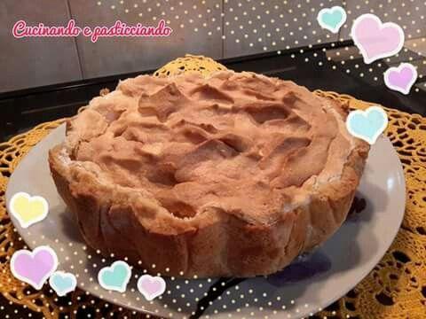 Meringata al limone www.cucinandoepasticciando.com