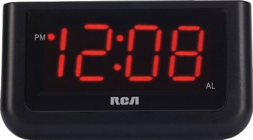 RCA Digital Alarm Clock with Large 1.4 Display Size: 1.4, Model: RCD30, Electronic Store