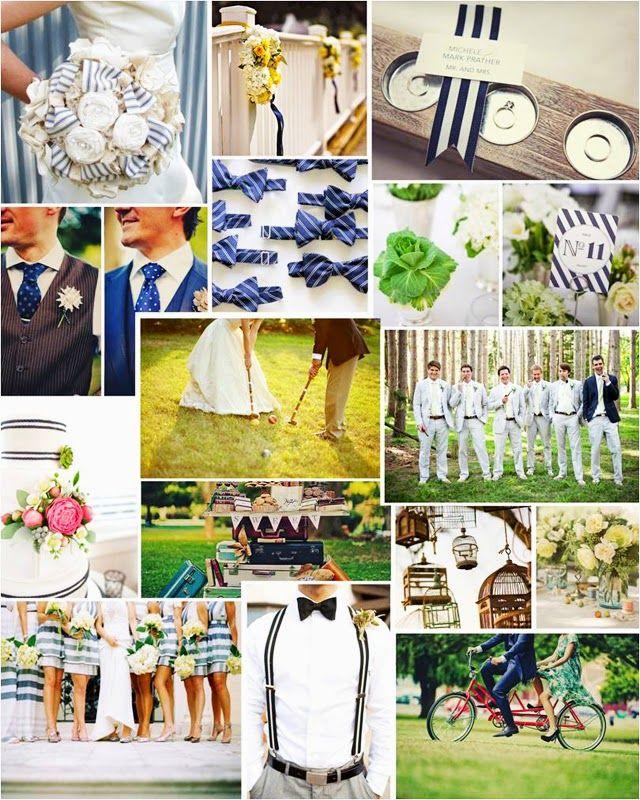 Lines wedding Decoration ~~~ Boda a Rayas ~~~ | NoviasRD