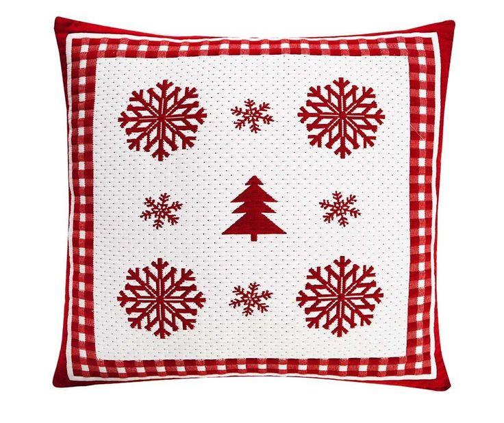 Snowflakes Wish White Párnahuzat 50x50 cm - Vivre