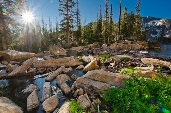 7 Tips for Landscape Photography in the Mountains - Sunrise at Goat Lake in the Sawtooth Wilderness of Idaho