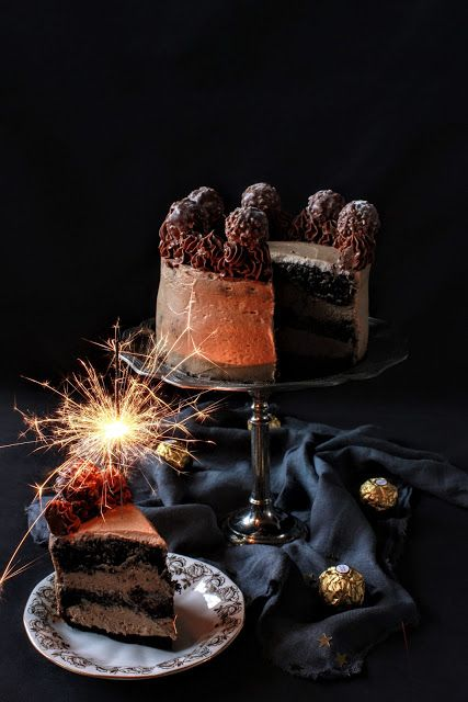 Midnight in Paris cake